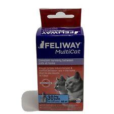 Feliway D89420B Multicat 48ml Diffuser Refill New/Sealed Exp 6/2021