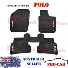 Premium Quality VW POLO 2012-2017 Tailored All Weather Rubber Car Floor Mats