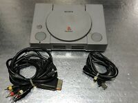 Sony PlayStation One PS1 Videogame Console w/ Multi-Console AV Cable -SCPH-1001