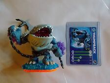 SKYLANDERS GIANTS * THUMPBACK * STAT CARD  * USED * 5 DAY AUCTION * SALE *