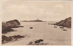 Becon Bay & Lighthouse On Island, RHOSCOLYN, Isle Of Anglesey