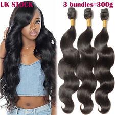 300g THICK 9A Unprocessed Virgin Human Hair Weave Brazilian Body Wave 1/3Bundles