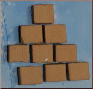 Backsteine Terrakotta Gemischt 1,5X1,5X1CM Zubehör Krippe Klassisch