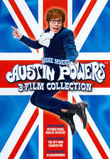 Austin Powers 3 Film CollectionNew Dvd Free Shipping!