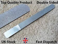 Stainless Steel Deb Foot File Skin Care Scrubber Dead Skin Remover Double Sided