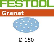 Festool Schleifpapier Schleifscheiben GRANAT, Ø 150 mm, Korn 80, 50 Stk. #575162
