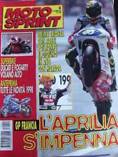 Motosprint 24 1997 Gp Francia Aprilia superstare Valentino Rossi Harada