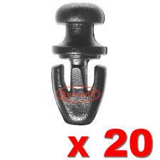 20 Ford MONDEO MK2 MK3 MK4 PORTA GOMMA GUARNIZIONE clip del davanzale inferiore WEATHERSTRIP