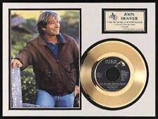 JOHN DENVER - TAKE ME HOME 45 RPM DORADO SCHALLPLATTE