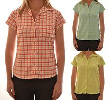 DARE 2 BE LADIES SOLO CASUAL SHORT SLEEVE CLASSIC CHECK SHIRT DWS104 C7