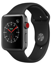 Apple Watch Model A1861 Space Gray Black Series 3 42mm BRAND NEW