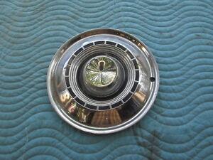 "Vintage 1959 CHRYSLER WINDSOR,SARATOGA 14"" HubCaps Hub Cap Very Good Condition C"