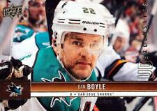 2012-13 Upper Deck UD Exclusives #155 Dan Boyle