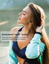 New listing D9 Bluetooth Headphones Sport W/Aptx Bass Stereo 16H Playtime Ipx7 Waterproof Wi
