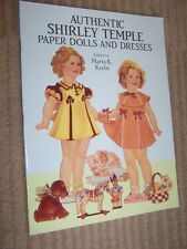 1991 Authentic Shirley Temple Paper Dolls Book