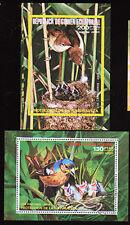 Aequatorialguinea Bl. 240, 241, O, Asiatische Vögel