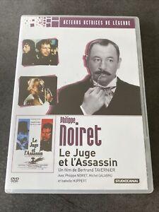 LE JUGE ET L ASSASSIN DVD NOIRET GALABRU HUPPERT TAVERNIER STUDIOCANAL FRANCE