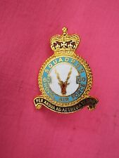 RAF 60 SQUADRON  Pin Badge Royal Air Force New Gilt & Enamel