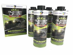 Bullyliner Spray-On Truck Bed Liner 4 liter/1 gallon kit  NO GUN- Free shipping