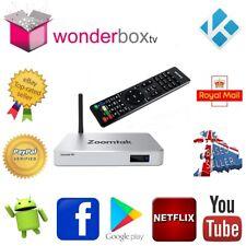 Zoomtak H8 Quad Core 2Gb RAM Android 7.1 Nougat Smart TV Box Kodi 17.6 Wonderbox