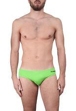 DSQUARED2 costume uomo firmato slip mare verde