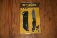 Browning Vortex Fixed Blade Knife. Mint