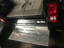 ACG Hummer Golf Cart rear foot rest plate diamond plate aluminum