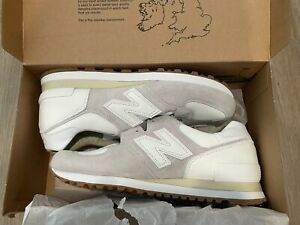 New END. Clothing X New Balance M575END 'MARBLE WHITE' US Mens 11 Sneakers