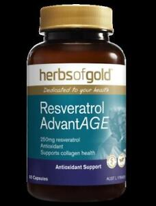 Herbs of Gold - Resveratrol AdvantAGE