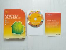 MICROSOFT OFFICE HOME AND STUDENT 2010 GOOD CONDITION