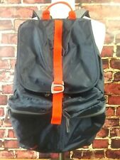 Lands' End Kids Backpack Bookbag Youth Blue Red Piping