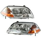 Headlight Set For 2001 2002 2003 Acura MDX Touring Model Left and Right 2Pc