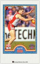 1996 AFL Tip Top Hyfibe Heroes Card #11 Paul Kelly (Sydney)
