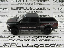 Greenlight 1:64 LOOSE Matte Black Lifted 2016 DODGE RAM 2500 POWER WAGON Pickup