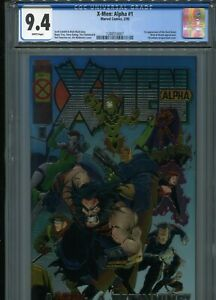 X-Men: Alpha #1  (1st Dark Beast)   CGC 9.4  WP