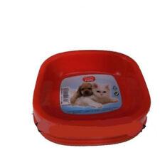 COMEDERO/ BEBEDERO para perros o gatos de plástico 16X14cm PLASTIC FORTE