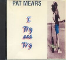 Pat Mears - I Try And Try ° Maxi-Single-CD von 1991 ° WIE NEU °