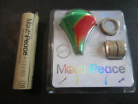 NEW Moose Labs Mouthpeace Filter Roll Lot Silicone Rubber Mouthpiece Bong Pipe