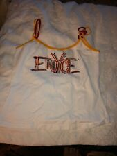 NEW WITH TAGS WOMAN'S ENYCE WHITE TANK TOP SIZE L (M10)