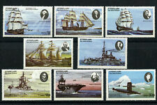 Ships US Bicentennial 8 mnh stamps Eynhallow Holy Island Local Scotland