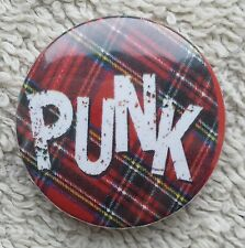 PUNK ROCK BUTTON BADGE Music Anarchy Sex Pistols Damned Clash Buzzcocks Ramones