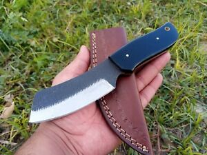 8 INCH Hunting Nest! Handmade D2 steel hunting skinner knife HORN HANDLE 1222