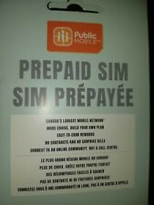Public Mobile SIM Card (Plan Activation Required for this price)