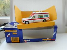 CORGI TOYS MERCEDES BENZ HOSPITAL  ZURICH  HOSPITAL M AMBULANCE BOXED