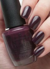 OPI Gwen ~*SLEIGH PARKING ONLY*~ Dark Burgundy Purple Nail Polish Lacquer HRF12
