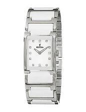 50 m (5 ATM) wasserbeständige elegante polierte Armbanduhren für Damen