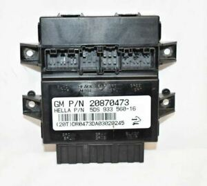 20870473 Memory Seat  Module Below Left Hand Front Seat  Fits 06-11 DTS F2A04