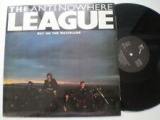 """The ANTI NULLE PART LEAGUE Out On The Terre en friche SPAIN 12"""" 1985 Punk MINT"""