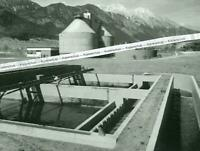 Innsbruck - Die neue Kläranlage der Stadt - Großformat -  um 1960/70     T 7-8