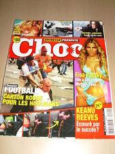 Entrevue Présente CHOC N°20 mars 2005 Elsa Pataky Keanu Reeves Michael Jackson